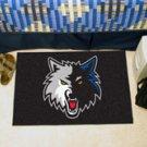 "NBA-Minnesota Timberwolves 19""x30"" carpeted bed mat"