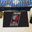 "NBA-Portland Trail Blazers 19""x30"" carpeted bed mat"