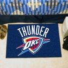 """NBA-Oklahoma City Thunder 19""""x30"""" carpeted bed mat"""