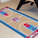 """NBA-Detroit Pistons 24""""x44"""" Court Runner Rug"""
