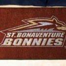 """St. Bonaventure University 19""""x30"""" carpeted bed mat/door mat"""