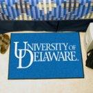 """University of Delaware 19""""x30"""" carpeted bed mat/door mat"""