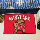 "University of Maryland 19""x30"" carpeted bed mat/door mat"