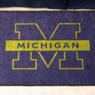 "University of Michigan 19""x30"" carpeted bed mat/door mat"