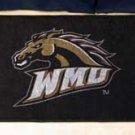 "Western Michigan University 19""x30"" carpeted bed mat/door mat"