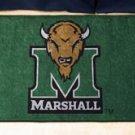 "Marshall University 19""x30"" carpeted bed mat/door mat"