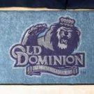 "Old Dominion University 19""x30"" carpeted bed mat/door mat"