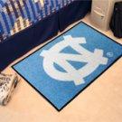 """UNC University of North Carolina Chapel Hill 19""""x30"""" carpeted bed mat/door mat"""