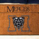 "Mercer University  19""x30"" carpeted bed mat/door mat"