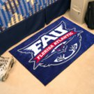 "Florida Atlantic University FAU 19""x30"" carpeted bed mat/door mat"