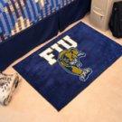 """Florida International University FIU 19""""x30"""" carpeted bed mat/door mat"""