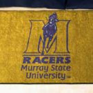"Murray State University Racers 19""x30"" carpeted bed mat/door mat"