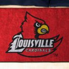 "University of Louisville Cardinals 19""x30"" carpeted bed mat/door mat"