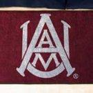 """Alabama A & M University AAMU 19""""x30"""" carpeted bed mat/door mat"""