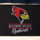 "Illinois State University Redbirds 19""x30"" carpeted bed mat/door mat"