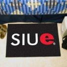 "Southern Illinois University Edwardsville SIUE 19""x30"" carpeted bed mat/door mat"