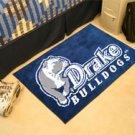 "Drake University Bulldogs 19""x30"" carpeted bed mat/door mat"