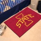 "Iowa State University  19""x30"" carpeted bed mat/door mat"