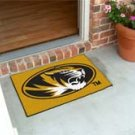 "University of Missouri  19""x30"" carpeted bed mat/door mat"