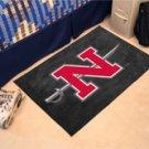 """Nicholls State University 19""""x30"""" carpeted bed mat/door mat"""