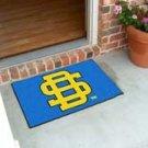 "South Dakota State University 19""x30"" carpeted bed mat/door mat"