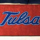 "University of Tulsa 19""x30"" carpeted bed mat/door mat"