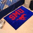 "Southern Methodist University SMU 19""x30"" carpeted bed mat/door mat"