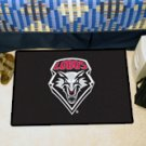 "University of New Mexico 19""x30"" carpeted bed mat/door mat"