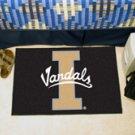 """University of Idaho Vandals 19""""x30"""" carpeted bed mat/door mat"""