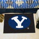 "Brigham Young University BYU 19""x30"" carpeted bed mat/door mat"