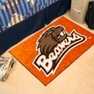 "Oregon State University Beavers 19""x30"" carpeted bed mat/door mat"