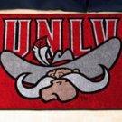 "University of Nevada Las Vegas UNLV 19""x30"" carpeted bed mat/door mat"