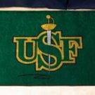 "University of San Francisco USF 19""x30"" carpeted bed mat/door mat"