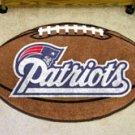 "NFL-New England Patriots 22""x35"" Football Shape Area Rug"