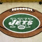 "NFL-New York Jets 22""x35"" Football Shape Area Rug"