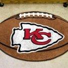 """NFL-Kansas City Chiefs 22""""x35"""" Football Shape Area Rug"""