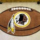 """NFL-Washington Redskins 22""""x35"""" Football Shape Area Rug"""