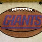 "NFL-New York Giants 22""x35"" Football Shape Area Rug"