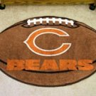 "NFL-Chicago Bears 22""x35"" Football Shape Area Rug"