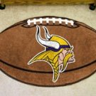 "NFL-Minnesota Vikings 22""x35"" Football Shape Area Rug"