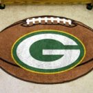 "NFL-Green Bay Packers 22""x35"" Football Shape Area Rug"