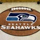 """NFL-Seattle Seahawks 22""""x35"""" Football Shape Area Rug"""