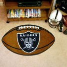 "NFL-Oakland Raiders 22""x35"" Football Shape Area Rug"