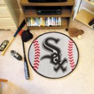 "MLB-Chicago White Sox 29"" Round Baseball Rug"