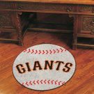 "MLB-San Francisco Giants 29"" Round Baseball Rug"