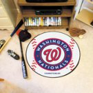 "MLB-Washington Nationals 29"" Round Baseball Rug"
