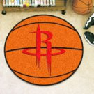 "NBA-Houston Rockets 29"" Round Basketball Rug"