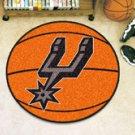 "NBA-San Antonio Spurs 29"" Round Basketball Rug"