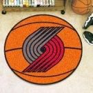 "NBA-Portland Trail Blazers 29"" Round Basketball Rug"