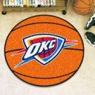 """NBA-Oklahoma City Thunder 29"""" Round Basketball Rug"""